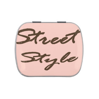Street Style Jelly Belly Candy Tin