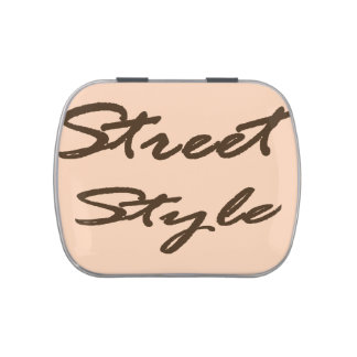Street Style Jelly Belly Tin