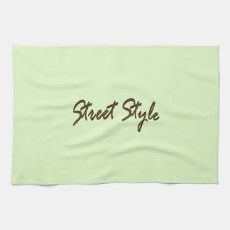 Street-Style Kitchen Towel