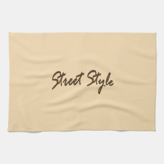 Street-Style Hand Towel