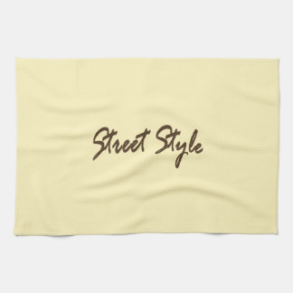 Street-Style Kitchen Towels