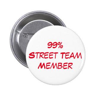 street team member button