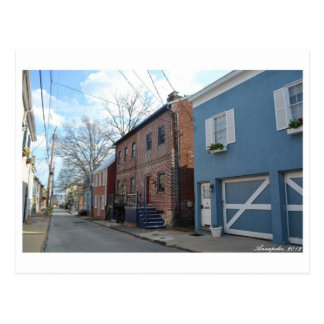 Street View at Annapolis Postcard