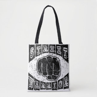 street warrior tote bag