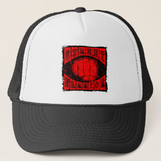 street warrior trucker hat