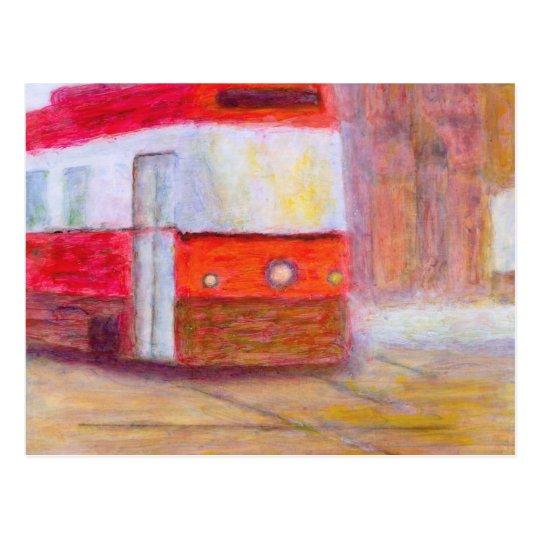 Streetcar, Postcard