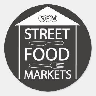 Streetfoodmarkets Classic Round Sticker