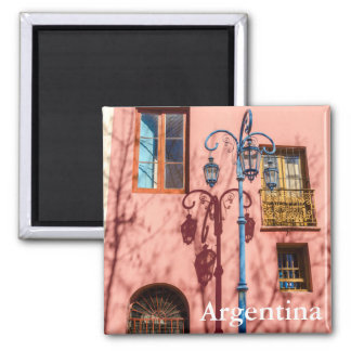Streetlight and Pink Wall Magnet