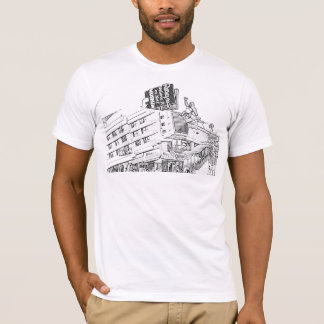 Streets and Architecture 23 Black design T-Shirt