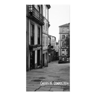Streets of Compostela Picture Card