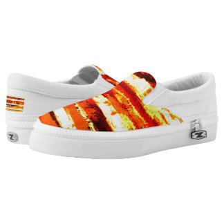 Streets of Gold Artist Designed Unisex Sneaker Printed Shoes