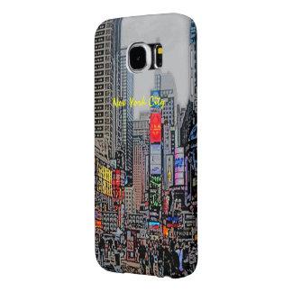 Streets of Manhattan Samsung Galaxy case