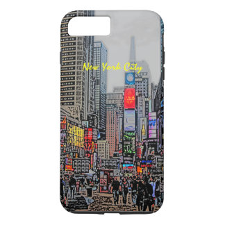 Streets of New York City iPhone case