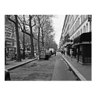 Streets of Paris Postcard