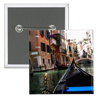 Streets of Venice 15 Cm Square Badge