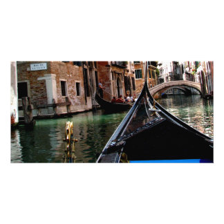 Streets of Venice Picture Card