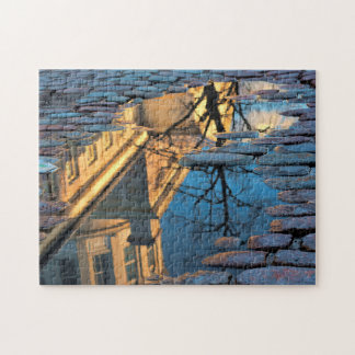 Streetscape Montreal. Jigsaw Puzzle