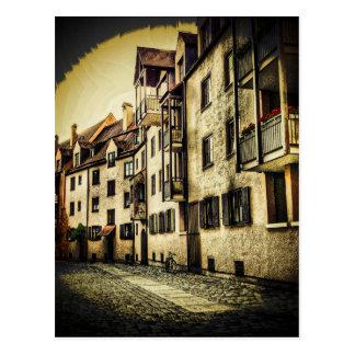 Streetscape Vignette Postcard