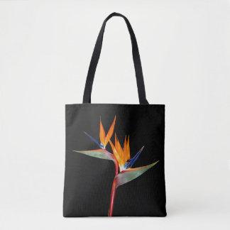 Strelitzia Plant Bird of Paradise Flower Tote Bag