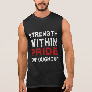 Strength and Pride Gym motivation tanks