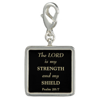 Strength and Shield Gold Christian