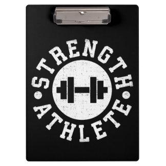 Strength Athlete Clipboard