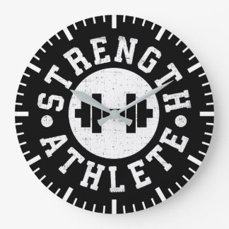 Strength Athlete Large Clock
