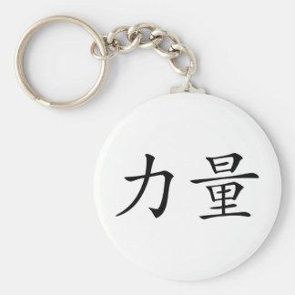 strength basic round button key ring
