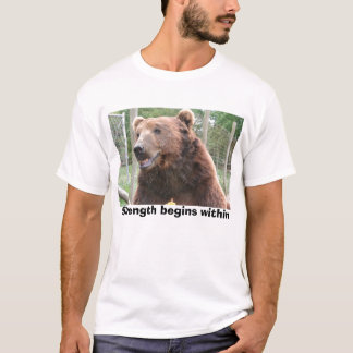 Strength begins within T-Shirt