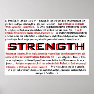 Strength - Biblical Poster