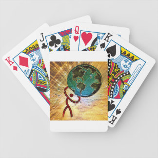 Strength Bicycle Playing Cards