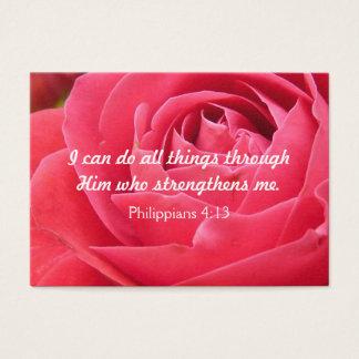 Strength Christian Inspiration Card