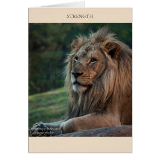 Strength & Courage Card
