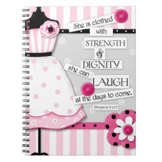 """Strength & Dignity"" Inspirational Journal"