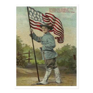 Strength & Labor Postcard