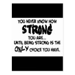 Strength Post Card