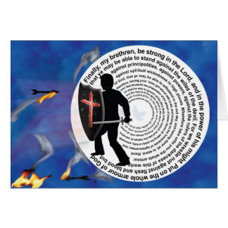 Strength to Stand Firm - Jesus Greeting Card