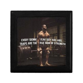 Strength Training Motivation - Traps - Workout Gift Box