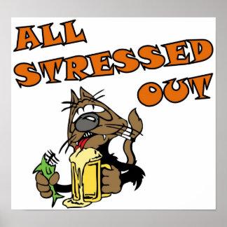 Stress Cat Full Print