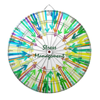 Stress Management Dart Board