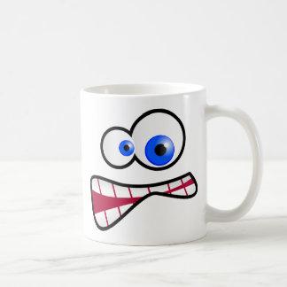 Stressed Face Coffee Mug