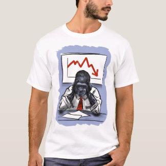 Stressed Gorilla - T-shirt