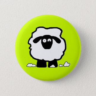Stressed Sheep 6 Cm Round Badge