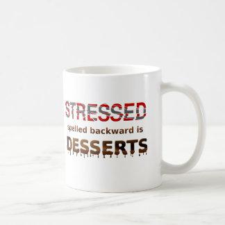 Stressed Spelled Backwards Is Desserts Mug