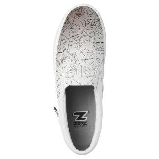 stressed stepper slip on shoes
