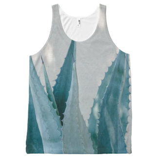Stretch and Grow All-Over Print Singlet
