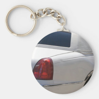 Stretch Basic Round Button Key Ring