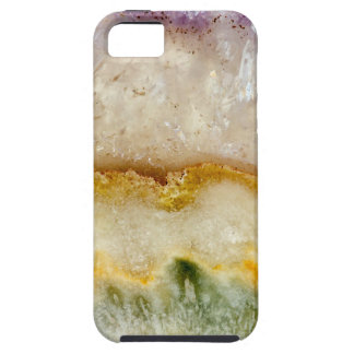Striated Amethyst in Purple Gold & Green Case For The iPhone 5