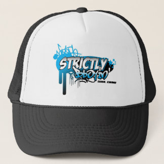 STRICLY BBOYIN TRUCKER HAT