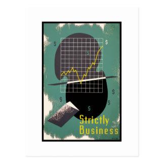 Strictly Business Postcard